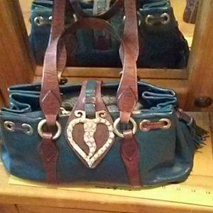 Moschino Heart Leather Purse